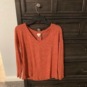 BNWT Orange New Day Long Sleeve